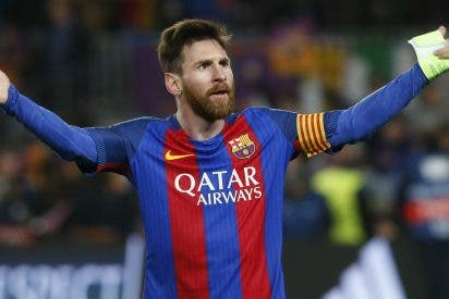 La mano que trató de suspender el Barça-Las Palmas (que acaba con recadito de Leo Messi)