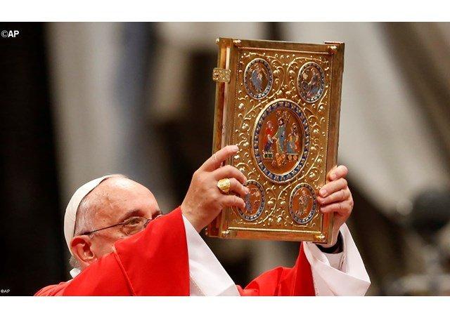 """El Papa a las Sociedades Bíblicas Unidas: """"Servidores de la Palabra, es vital anunciar el Evangelio a todos"""""""