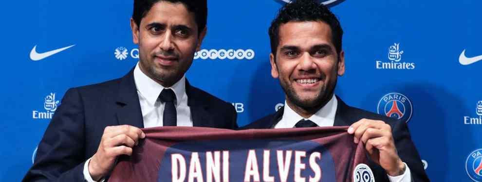 Lo que se esconde tras el bajo sueldo de Dani Alves en el PSG