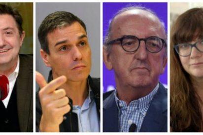 Losantos se despacha en un regio artículo contra el taimado Sánchez, el fenicio Roures y la mudita Coixet