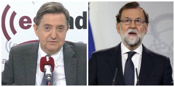 """Losantos: """"Este golpe lo han dado los medios de Rajoy: laSexta, Cuatro y la RTVE"""""""