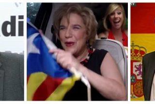 """Losantos al director de TV3: """"¿Así que 'puta España'? Pues a la puta calle todos"""""""