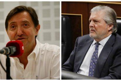 Losantos destroza a 'Méndez de Frankfurt' por negar adoctrinamiento en Cataluña