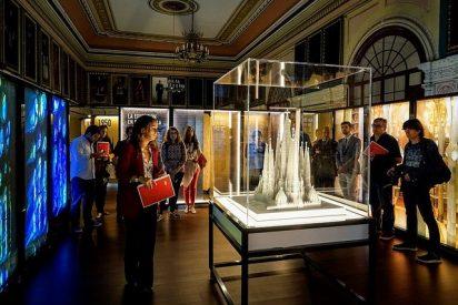 La exposición itinerante de Gaudí se inicia en Zaragoza