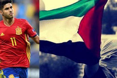Radicales palestinos acosan a Marco Asensio durante la visita de la Selección a Israel