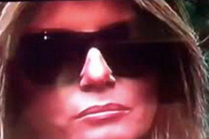 En Twitter creen que la mujer que aparece junto a Trump es una doble de Melania