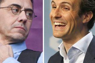 El taimado Pablo Iglesias no quiere más sobresaltos y envía a su perro de presa Monedero a insultar a Pablo Casado