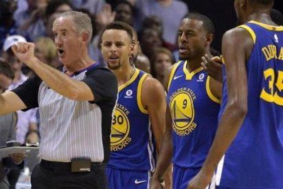 [VIDEO] NBA: Esta es la jugada por la que Stephen Curry y Kevin Durant fueron expulsados