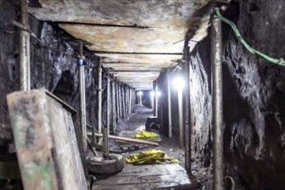 [VIDEO] Ladrones intentaron robar más de 300 millones cavando este túnel, y casi lo consiguen