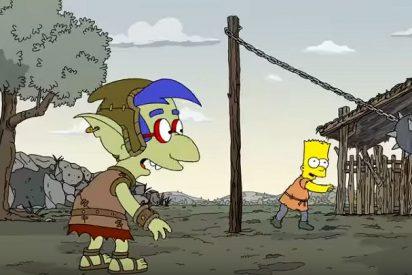 La genial parodia de 'Los Simpson' sobre Juego de Tronos ya es viral
