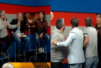 [VIDEO] Bronca descomunal entre periodistas argentinos en un programa en directo