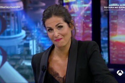 Nuria Roca se lía a 'mordiscos' con los que critican que folle con quien quiera