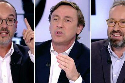 Girauta y Rafa Hernando dejan en la miseria en directo al golpista portavoz de Puigdemont