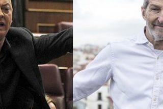 """Odón Elorza estalla y se pone histérico contra el podemita Julio Rodríguez: """"¡Señores de Podemos, dejen ya de acusar al Partido Socialista!"""""""