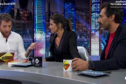 """Nuria Roca y su marido dejan alucinado a Pablo Motos: """"Somos una pareja abierta"""""""