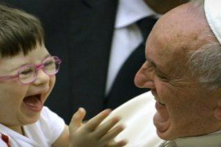 """Francisco reivindica que """"la Iglesia no puede estar sin voz en la defensa de las personas con discapacidad"""""""