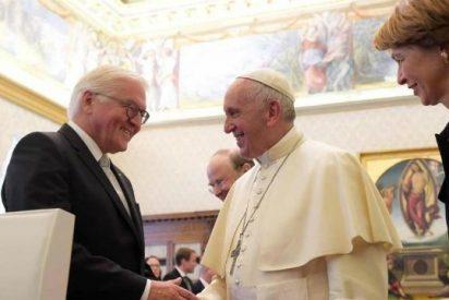 El Papa recibe al Presidente de Alemania