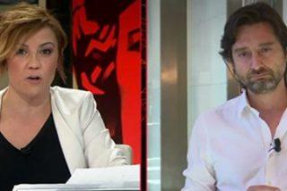 Cristina Pardo se harta de que Rafa Mayoral conteste lo que le viene en gana sobre Cataluña y le planta un buen zasca