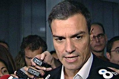 Pedro Sánchez cava su tumba echando tierra a los ojos de todos los españoles