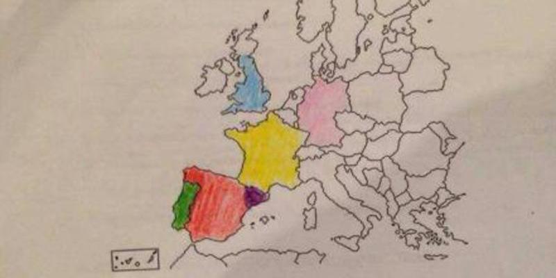 Así adoctrinan con 'pinta y colorea' a los niños de Primaria en la escuela catalana