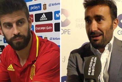 La pregunta letal de Juanma Castaño que desmontó las patrañas de Piqué en rueda de prensa