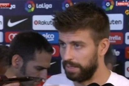 Las lágrimas de un cínico: el 'Mesías' Piqué llora por Cataluña ante la prensa para que todo el mundo sepa cuánto sufre su pueblo