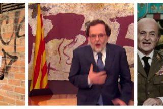 'Polònia' de TV3: Sesión de odio con un Rajoy que ordena destrozar una bandera catalana a porrazos