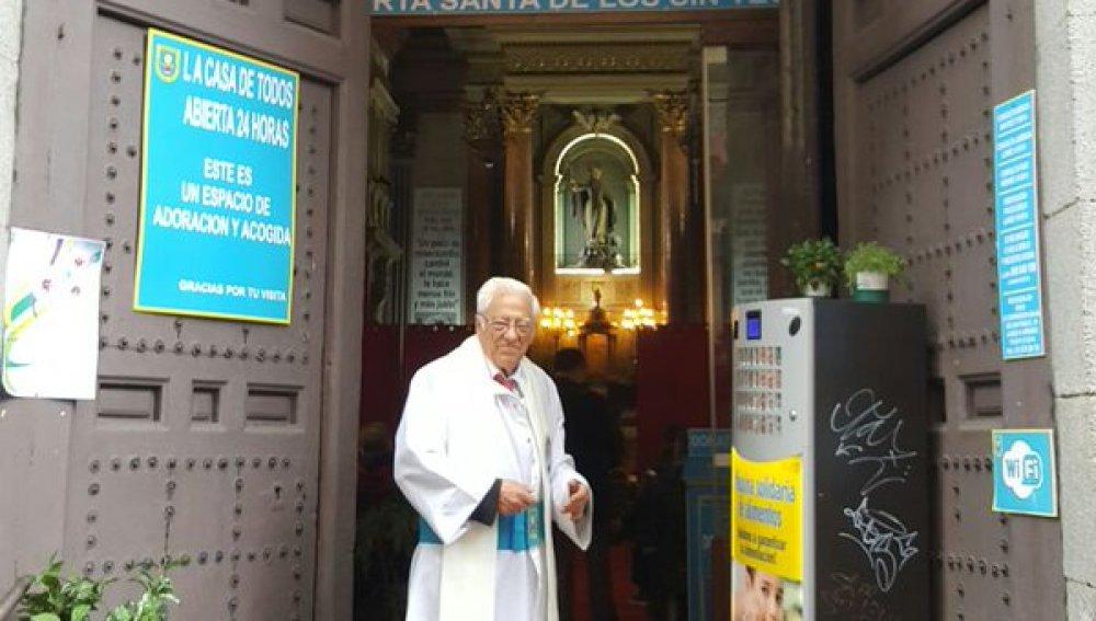 """San Antón celebra una oración """"por la paz y la concordia"""" en España"""