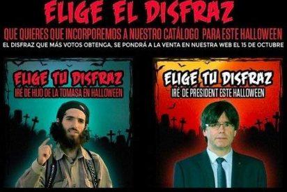 Carles Puigdemont, el disfraz para triunfar en Halloween