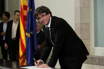 Puigdemont se niega a responder a Rajoy si declaró o no la independencia