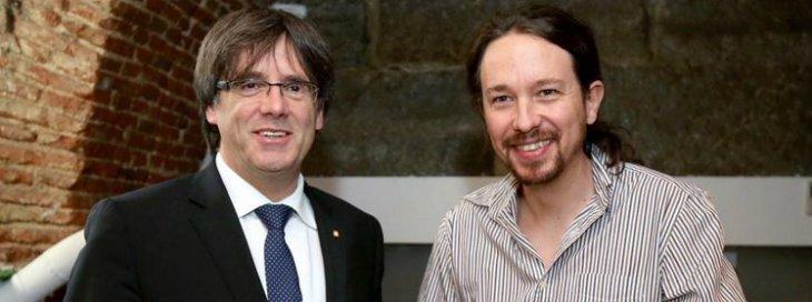 Podemos se descalabra por culpa de Cataluña y es superado por Ciudadanos