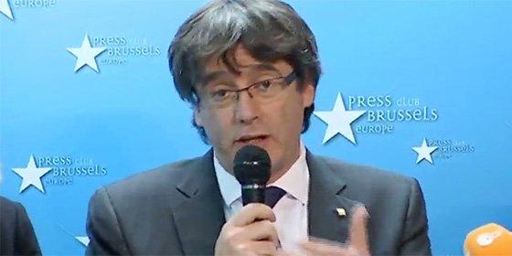 'Puchi' y sus secuaces se hacen pasar por víctimas en Bruselas y acaban haciendo el ridículo
