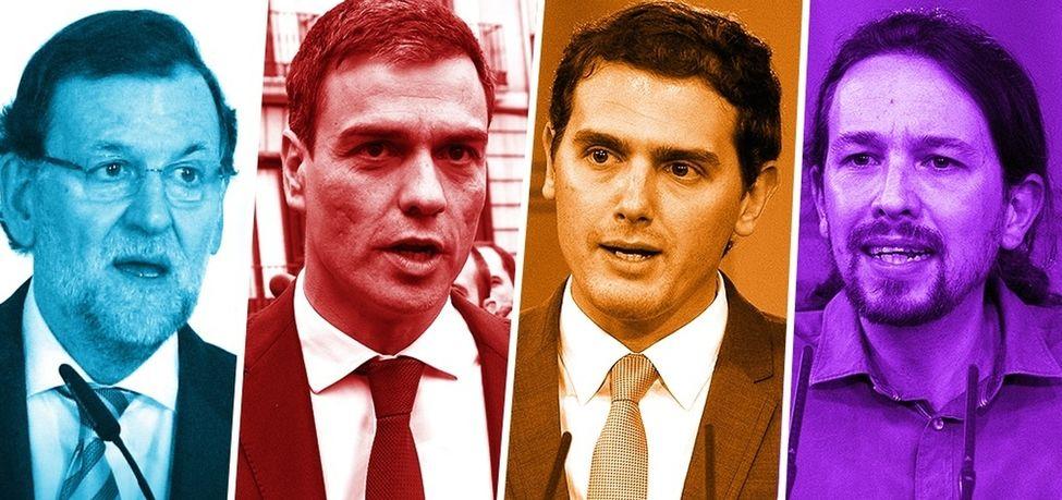 Ciudadanos sube 17 escaños en un mes y desbanca a Podemos del tercer puesto