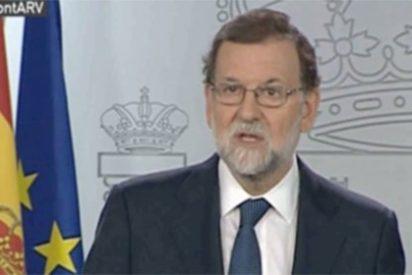 Rajoy se mofa de Puigdemont: le pregunta qué ha declarado y le amenaza con el 155
