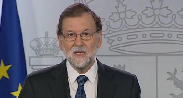 """Rajoy ni se inmuta ante el 1-O: """"El referéndum no ha existido, ha prevalecido la democracia"""""""