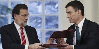 ABC coge por la solapa en un duro editorial a Rajoy y Sánchez avisándoles de que no jueguen con la Cataluña silenciosa