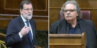 Rajoy cierra la boca a Tardá revelando el chantaje que le ha querido hacer su 'cómplice' golpista Puigdemont