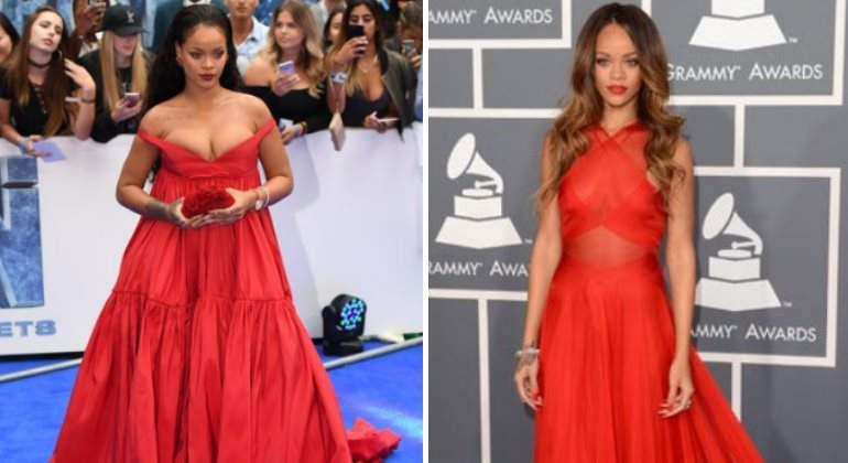 "Rihanna: ""Tengo un físico fluctuante"""