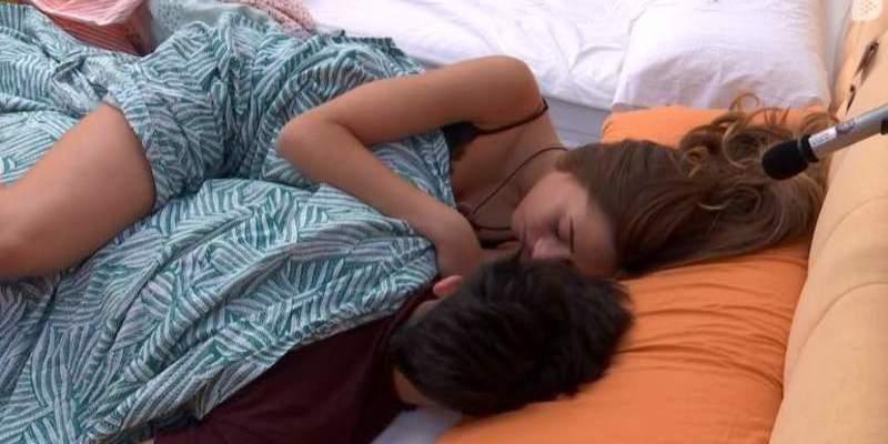Rubén y Miriam calientan 'GH Revolution': besos, pasión... ¿y sexo?