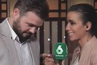 """Gabriel Rufián a Ana Pastor: """"No descarto ir a elecciones"""""""