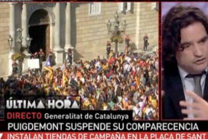 """""""Después de hoy se podrá decir de todo de los catalanes menos que somos gente seria"""""""