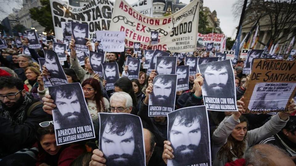 El Papa recibirá en diciembre a los familiares de Santiago Maldonado