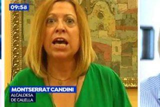 Griso y un portavoz de la Policía meten un repaso brutal a la chula, agresiva y xenófoba alcaldesa de Calella