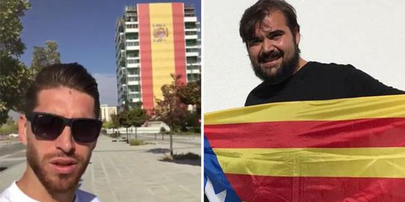 El portavoz del SAT acusa a Sergio Ramos de ser un 'nazi que canta el Cara al Sol'