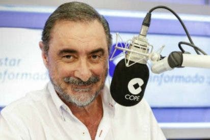 """Carlos Herrera: """"¿De verdad creían estos idiotas que la independencia de Cataluña saldría gratis?"""