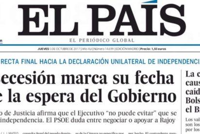 El diario 'El País' insta a Rajoy a actuar con energía y de una vez por todas