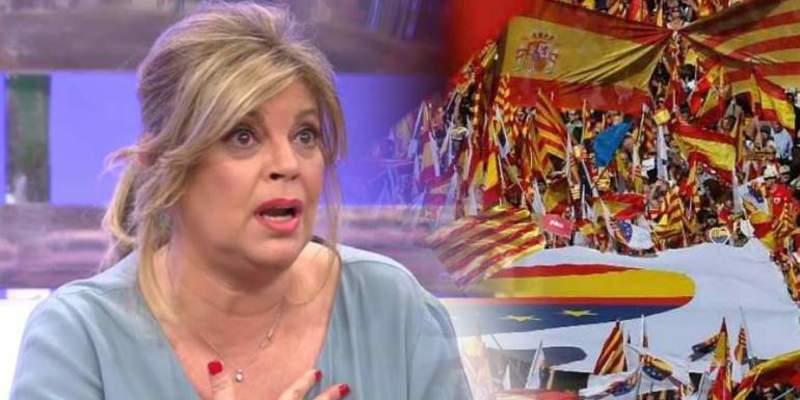 ¡Viva España! ¡Viva Terelu!... y una mierda para los troles independentistas
