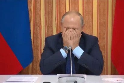 """[VIDEO] Vladimir Putin se """"parte el culo""""ante el patinazo de uno de sus funcionarios"""