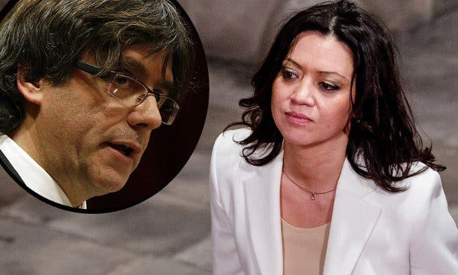 La mujer de Puigdemont se 'independiza'... pero del paro: volverá a cobrar 6.000 euros mensuales en una TV pública