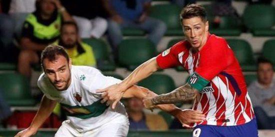 El Atlético Madrid de Simeone empata en Elche en su estreno copero (1-1)